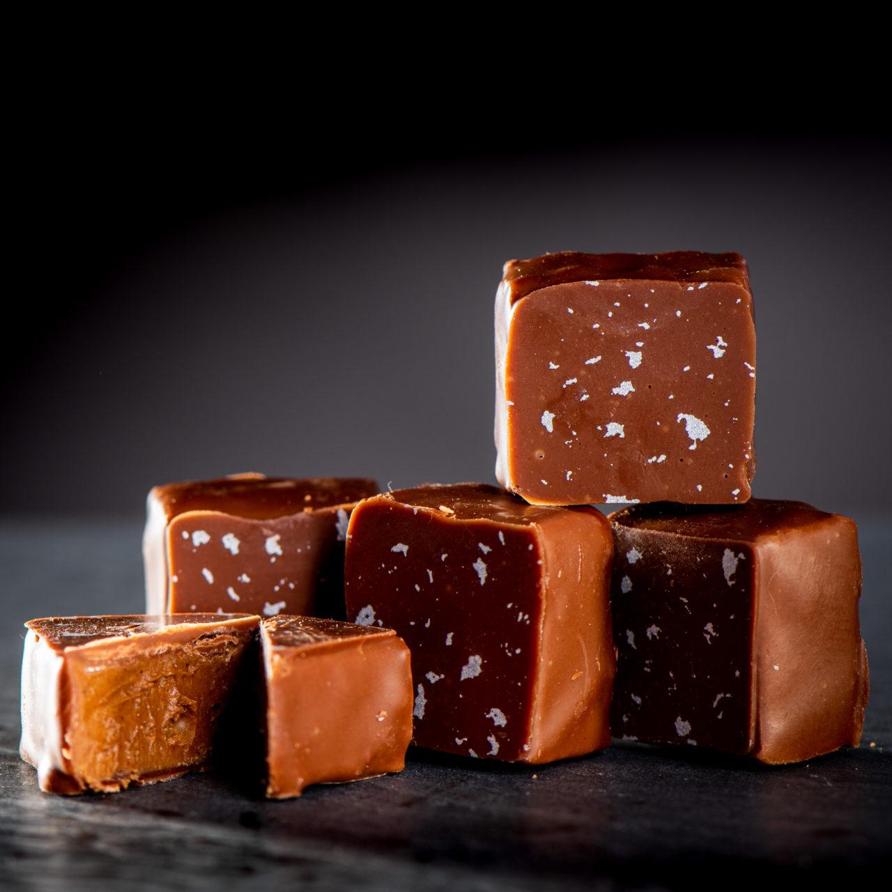 chocolat noir praliné sarrasin