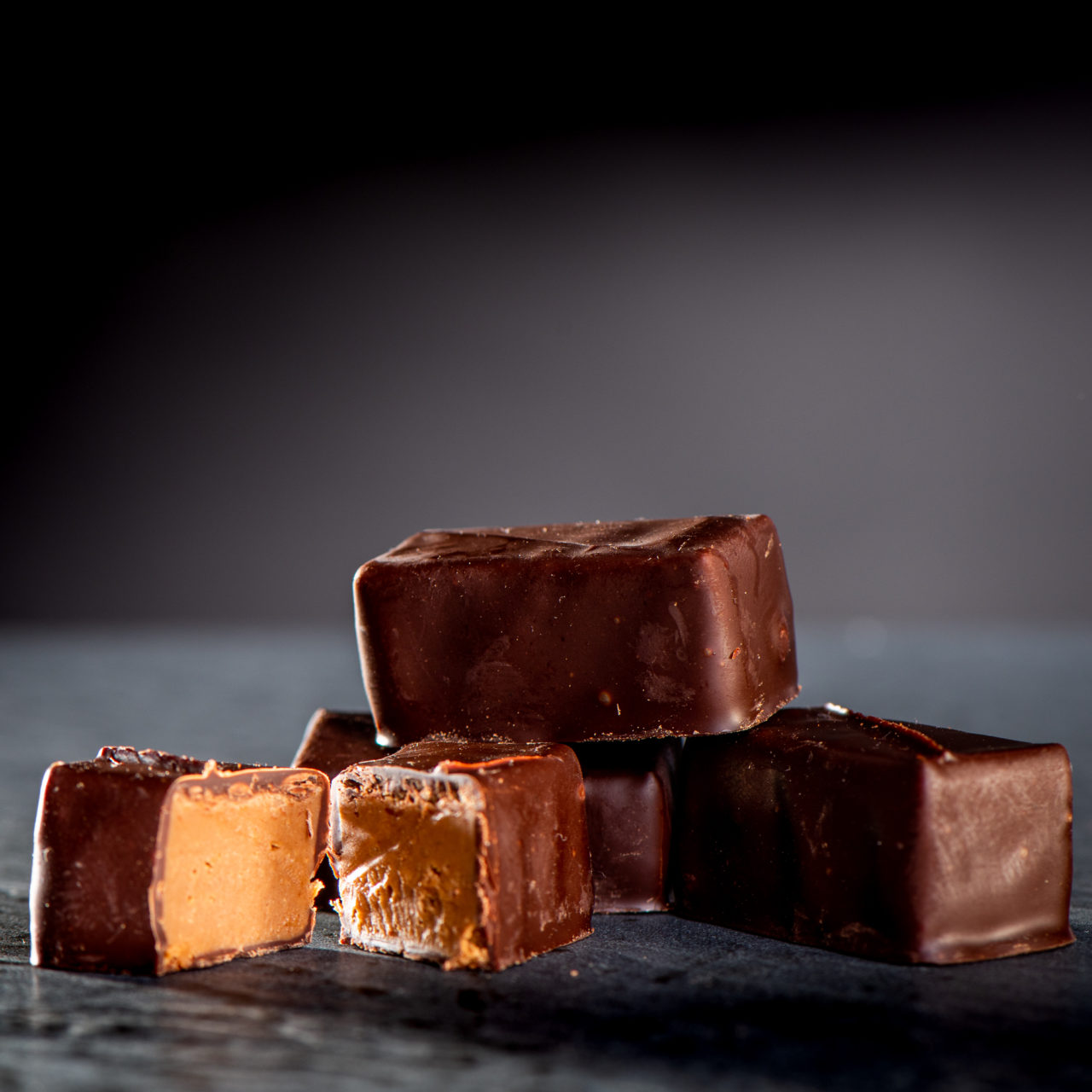 chocolat noir praliné sel de guérande
