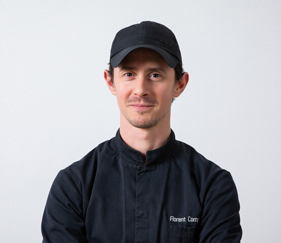 Florent Compere maitre chocolatier à Paris